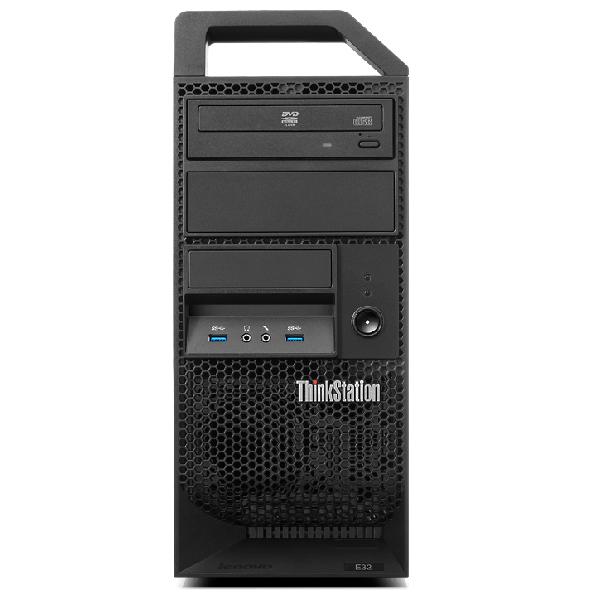 ワークステーション 新品 Lenovo ThinkStation E32 Tower ( Windows 7 Professional 64ビット / Xeon E3-1220 v3 / 4GB / 500GB / DVD-ROM / 液晶別売 / NVIDIA Quadro K2000 )【納期 ~5営業日】【送料無料】【メーカー保証】【02P03Dec16】