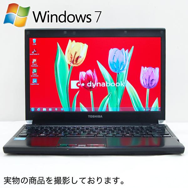 Used Laptop Toshiba Dynabook R731 E PR731EEANRBC53 Windows 7 Professional 32 Bit Or 64 Core I3 2350M 3 GB 250 DVD Super Multi 133 Types