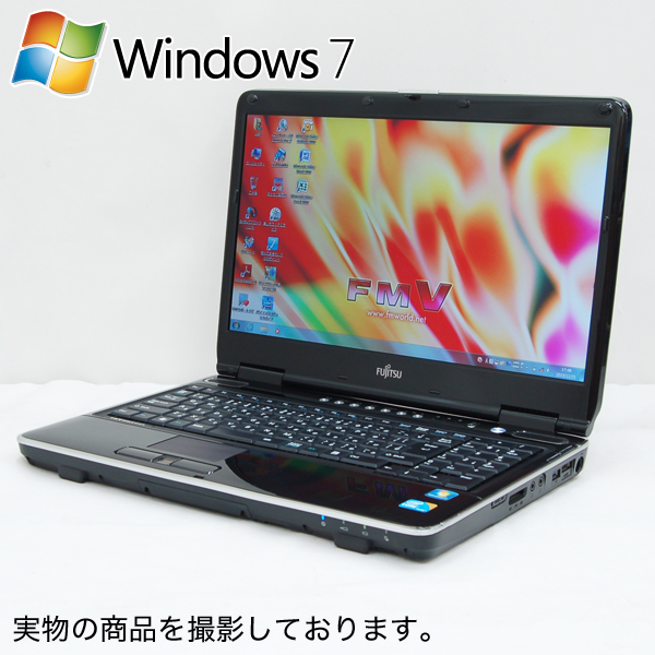 ノートパソコン 富士通 FMV-BIBLO NF/G70 FMVNFG70B ( Windows 7 Home Premium 32ビット / Core i5-430M / 4GB / 500GB / Blu-Ray / 15.6型 / Office 2007 )【即納】【送料無料】【90日保証】【】【02P03Dec16】