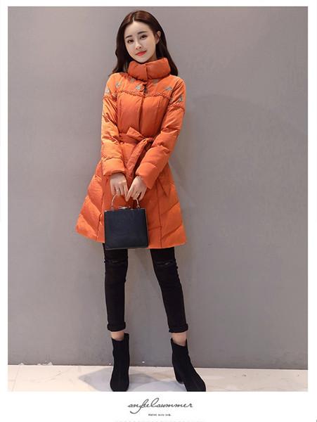 女性の長袖冬の綿2017新しい印刷スリム襟パッド入り綿のパジャードジャケットの女性のジャケット