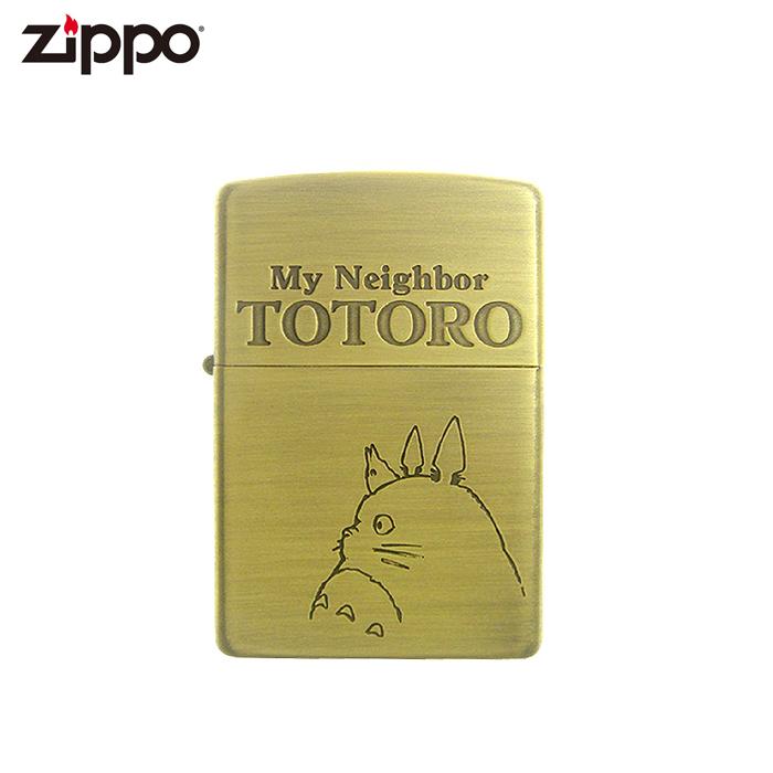 Zippo となりのトトロ横顔 NZ-04 スタジオジブリコレクション ジッポーライター プレゼント ギフト 喫煙具