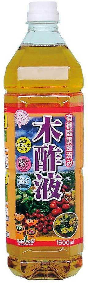 中島商事 トヨチュー 有機酸調整済み 1500ml 木酢液 正規店 選択