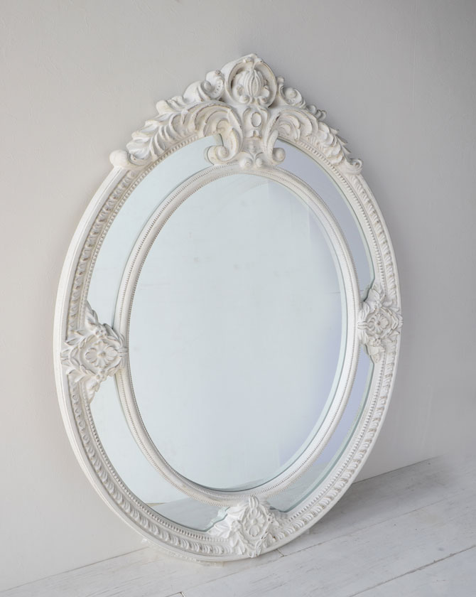 【代引き不可】【送料別途お見積り】BASTILLE オーバルミラー 133×100 111332【Amadeus フランス おしゃれ アンティーク フレンチ ディスプレイ 鏡 壁掛け ウォールミラー】