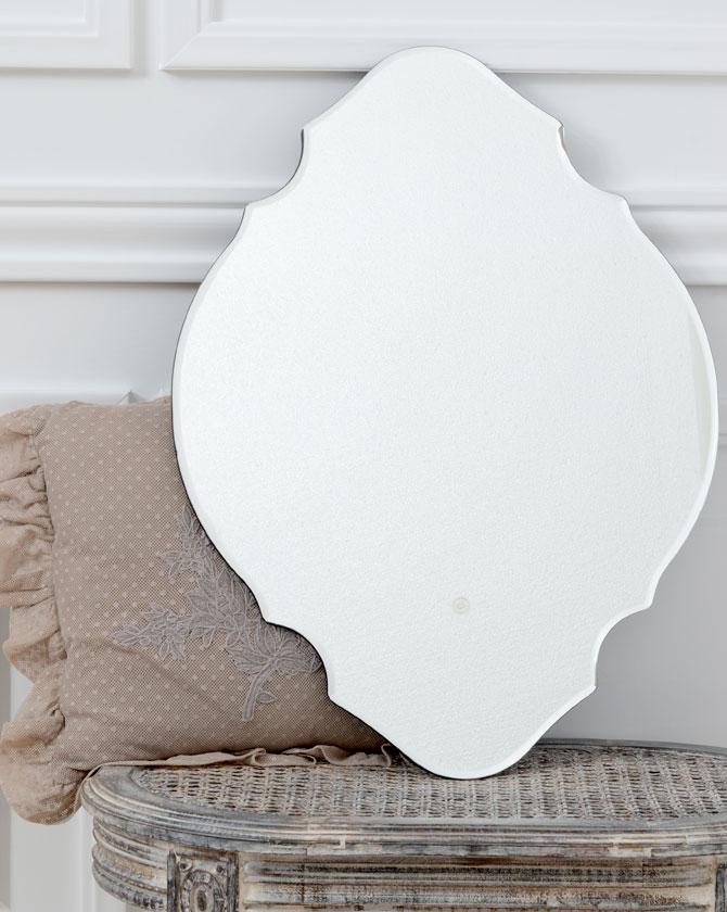 【同梱不可】MABELLE ミラー クリア 60cm A00003096【LENE BJERRE DESIGN/リーネヴェールデザイン/デンマーク/鏡/おしゃれ】