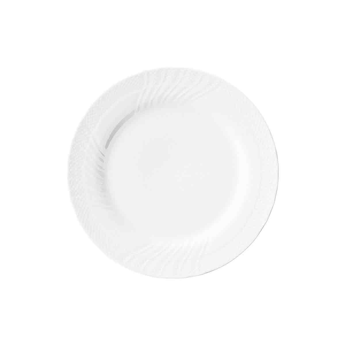 美濃焼 日本製 おしゃれ 食器 カラー シンプル 15300005 SEAL限定商品 20cmケーキ皿 内祝い 白磁 取り寄せ商品 RIVAGE リヴァージュ