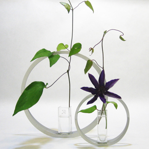 UTAKATA glass vases with L size UT-2