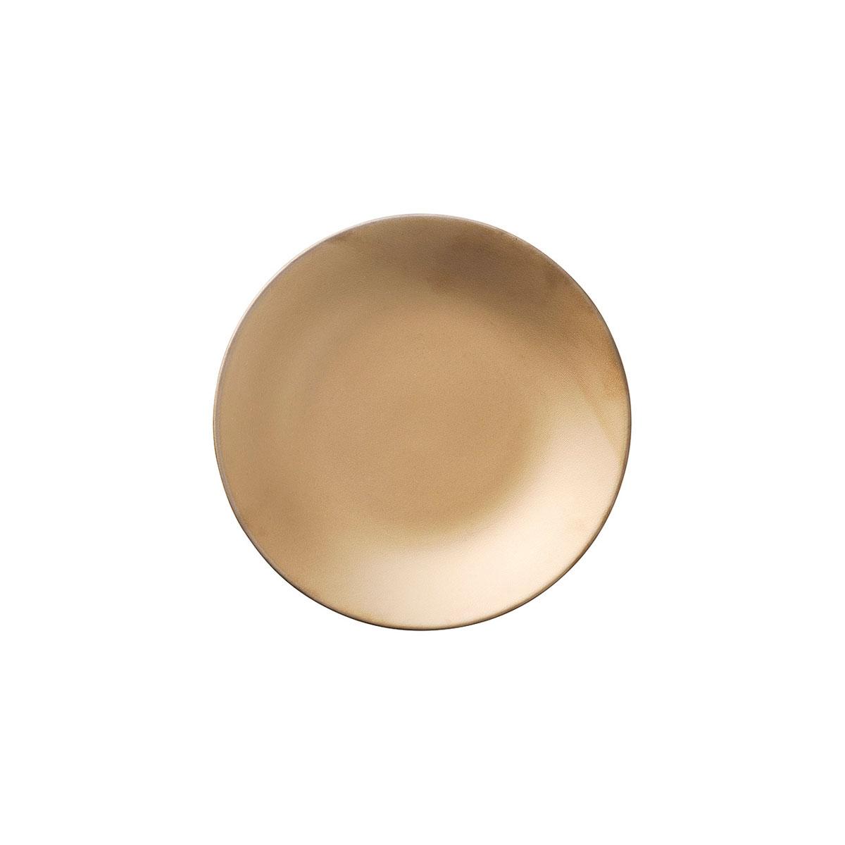美濃焼 日本製 おしゃれ 食器 ワンプレート 大皿 盛り付け ゴールド ほうしょう 金 14cmディッシュ 宝生 カリタ 超人気 専門店 取り寄せ商品 休み CARITA 17369352