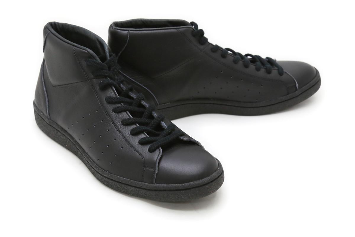 メーカー直売 スニーカー パトリック メンズ ブラック 日本製 父の日 ギフト パンチ 18551bk 期間限定特別価格 ハイ PATRICK プレゼントにも セイント