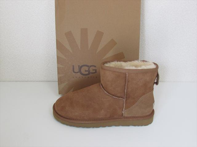 UGG australia アグ オーストラリア シープスキン ブーツ クラシック ミニ サイズUS6 (23cm) チェストナット【新品】UGG australia Classic Mini /Chestnut