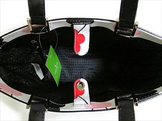 kate spade keitosupedobaggujunogurantosutoritogureinibiniruhowaito/花多kate spade背Juno(WKRU2677)Grant Street Grainy Vinyl fstflmulti