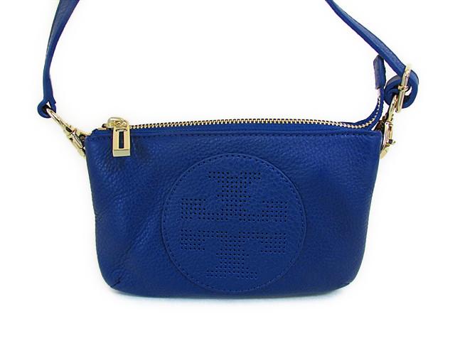 【スペシャル】 Tory Burch トリーバーチ ショルダーバッグ キップ スモール クロスボディ ブルー【新品】Tory Burch バック KIPP SMALL CROSSBODY Blue Nile Style: 19149189