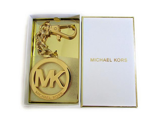 【スペシャル】MICHAEL KORS マイケルコース キーホルダー チャーム MK キーチェーン ゴールド【新品】MICHAEL Michael Kors KEY CHARMS MK Key Chain gold 35H0TKCK 1N