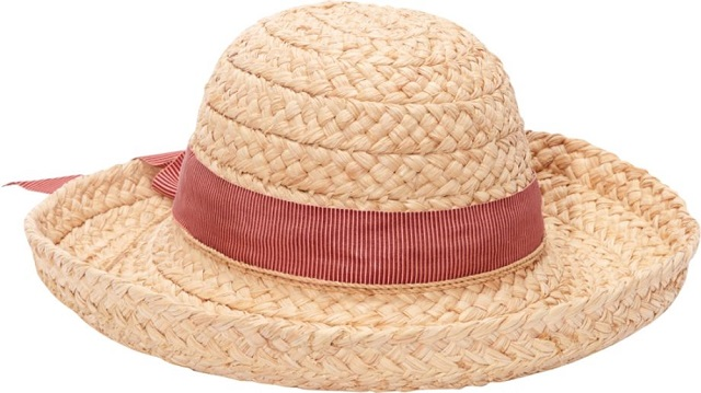 HELEN KAMINSKI ヘレンカミンスキー ラフィア帽子 クラシック 5 カリーニャ ナチュラル/メロンストライプ【新品/お取寄】HELEN KAMINSKI ハット Classic 5 Carinya natural/melon stripe /Made in Sri Lanka