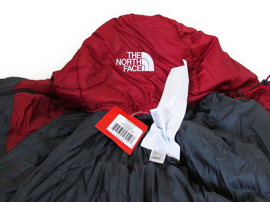 THE NORTH FACE zanosufeisu睡袋阿留莎1S BX RN#61661 THE NORTH FACE ALEUTIAN 1S BX Rhubarb Red Regular Right Hand