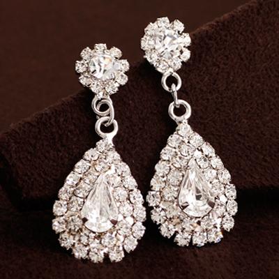 Pierced Earrings Wedding Swarovski The Stylish Latest Ceremony