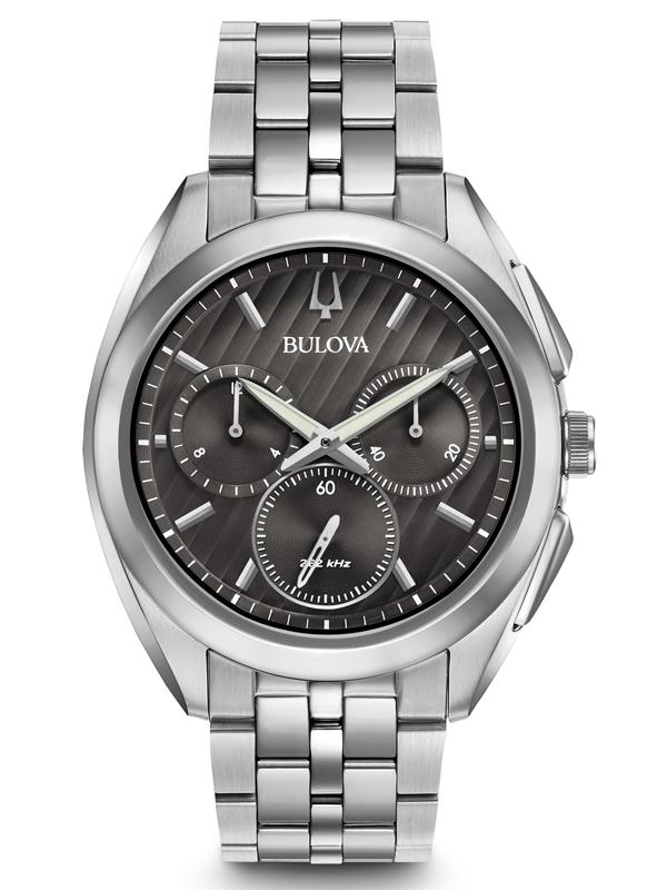 【2日20時~エントリーでポイント最大39倍!9日1時59分まで!】 国内正規品 BULOVA ブローバ カーブ クロノグラフ メンズ腕時計 送料無料 96A186