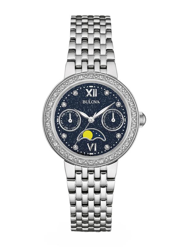 【2日20時~エントリーでポイント最大39倍!9日1時59分まで!】 国内正規品 BULOVA[ブローバ]DIAMONDS [ダイヤモンド] レディース腕時計 96R210