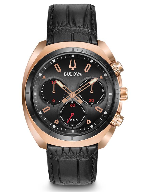 【ポイント最大38倍!9日20時~16日1時59分まで!】 国内正規品 BULOVA ブローバ  カーブ クロノグラフ メンズ腕時計  98A156