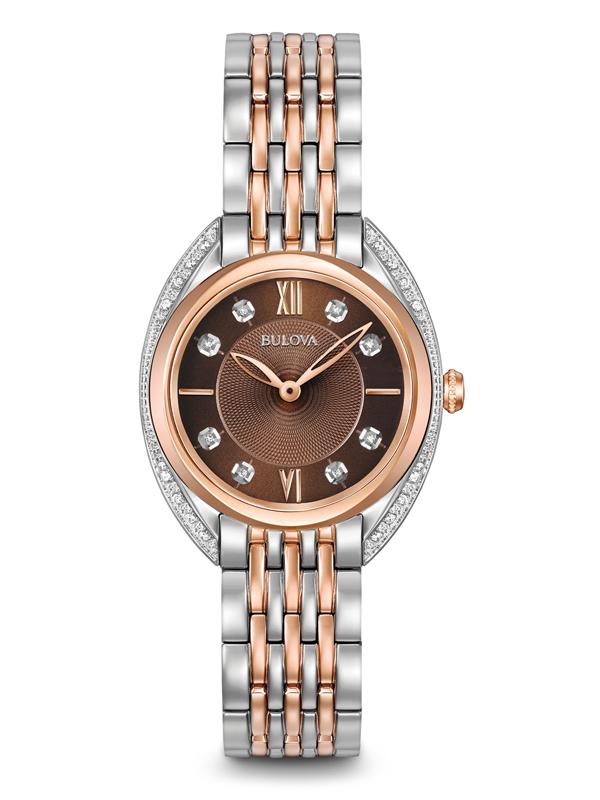 【2日20時~エントリーでポイント最大39倍!9日1時59分まで!】 【送料無料】国内正規品 BULOVA[ブローバ]DIAMONDS [ダイヤモンド] レディース腕時計 98R230