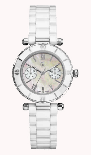 【ポイント最大38倍!4日20時~11日1時59分まで!】 【24回払いまで無金利】 【送料無料】国内正規品 Gc ジーシー Diver Chic 35003L1S レディース腕時計