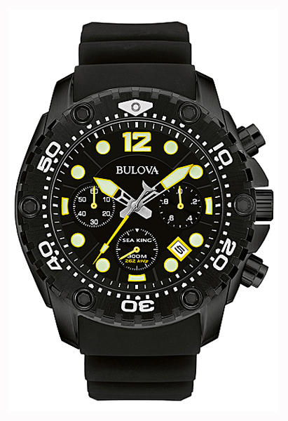 [Bulova, BULOVA domestic genuine SEA KING [seeking] mens watch 98B243