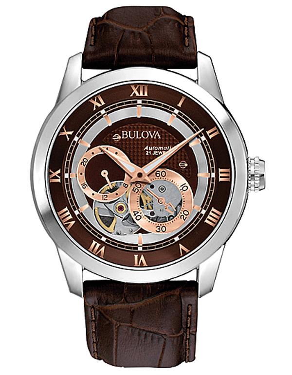 【2日20時~エントリーでポイント最大39倍!9日1時59分まで!】 【送料無料】国内正規品 BULOVA[ブローバ] Automatic 96A120 メンズ腕時計