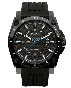 【2日20時~エントリーでポイント最大39倍!9日1時59分まで!】 国内正規品 BULOVA PRECISIONIST[ブローバ プレシジョニスト]CHAMPLAIN メンズ腕時計 あす楽 送料無料 98B142