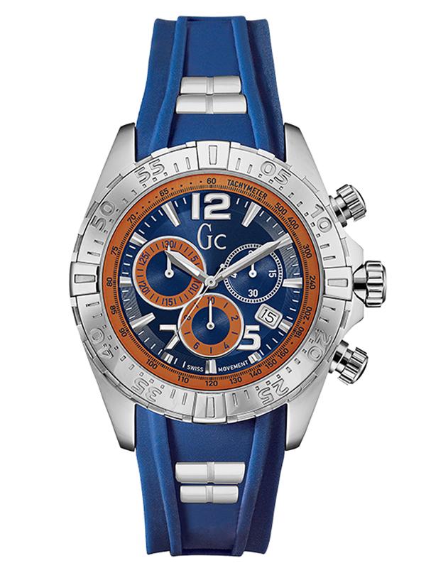 【ポイント最大38倍!11日20時~18日1時59分まで!】 【24回払いまで無金利】 【送料無料】国内正規品 Gc ジーシー Papaya&Blue Y02010G7 メンズ腕時計