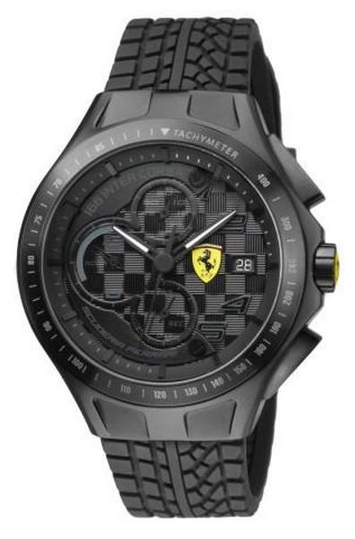 【送料無料】国内正規品SCUDERIA FERRARI スクーデリア・フェラーリ メンズ腕時計 0830105