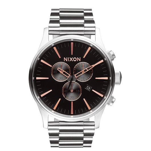 【送料無料】国内正規品 NIXON ニクソン THE SENTRY CHRONO メンズ腕時計 NA3862064-00【新品】