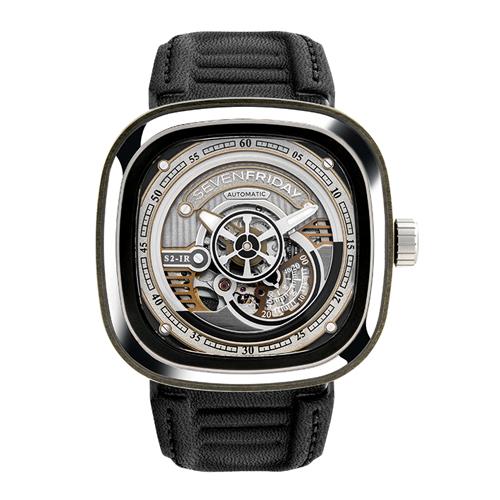 【24回払いまで無金利】 国内正規品 SEVENFRIDAY セブンフライデー メンズ腕時計 送料無料 SF-S2/01【新品】