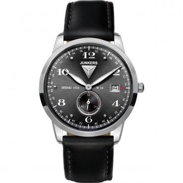 国内正規品【送料無料】 Junkers ユンカース メンズ腕時計 63342QZ 【新品】