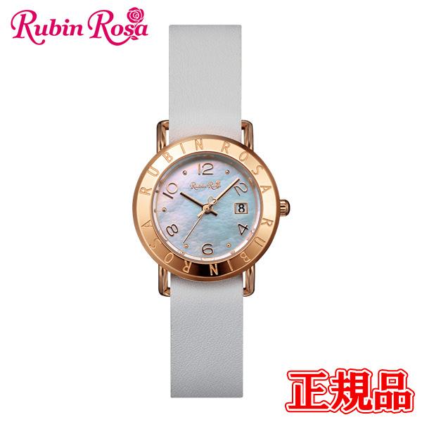 【2日20時~エントリーでポイント最大39倍!9日1時59分まで!】 Rubin Rosa ルビンローザ R601 Series ソーラーチャージムーブメント レディース腕時計 送料無料 R601PWHMOP