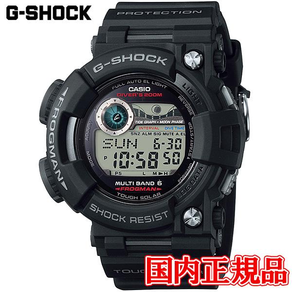 【送料無料】 国内正規品 カシオ G-SHOCK FROGMAN (フロッグマン) メンズ腕時計 GWF-1000-1JF 【新品】