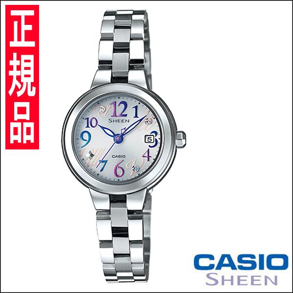 カシオ SHEEN [シーン] Fresh Colors Series (フレッシュカラーズシリーズ)レディース腕時計 SHE-4506SBD-7A2JF