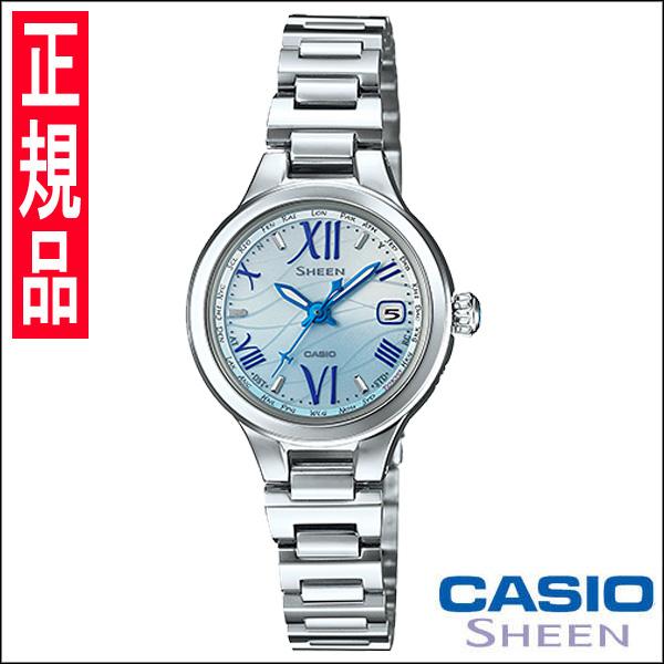 【4日20時~エントリーでポイント最大39倍!11日1時59分まで!】 【送料無料】カシオ SHEEN [シーン] レディース腕時計 SHW-1700D-2AJF