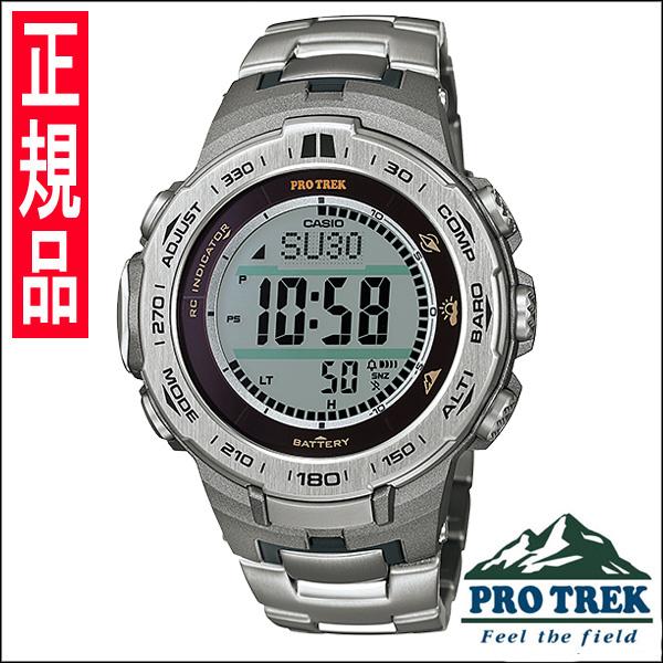 【4日20時~エントリーでポイント最大39倍!11日1時59分まで!】 【送料無料】国内正規品 カシオ PRO TREK [プロトレック] メンズ腕時計 PRW-3100T-7JF