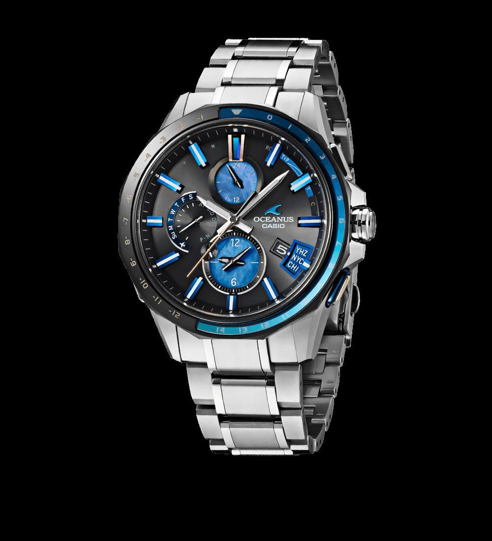 國內正規的物品卡西歐OCEANUS(oshianasu)男子的手錶OCW-G2000C-1AJF