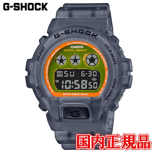 【2日20時~エントリーでポイント最大39倍!9日1時59分まで!】 国内正規品 CASIO カシオ G-SHOCK クォーツ メンズ腕時計 送料無料 DW-6900LS-1JF