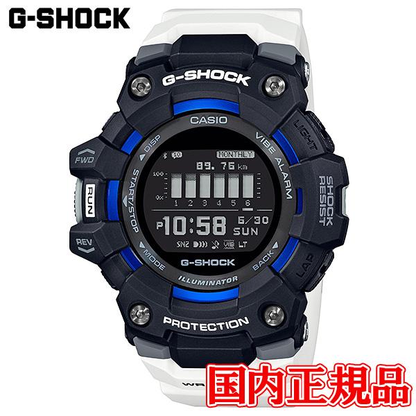 【2日20時~エントリーでポイント最大39倍!9日1時59分まで!】 国内正規品 CASIO カシオ G-SHOCK G-SQUAD クォーツ メンズ腕時計 送料無料 GBD-100-1A7JF