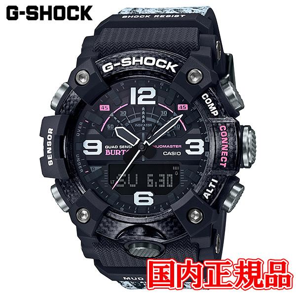 【2日20時~エントリーでポイント最大39倍!9日1時59分まで!】 国内正規品 CASIO カシオ G-SHOCK BURTON コラボレーションモデル クォーツ メンズ腕時計 GG-B100BTN-1AJR