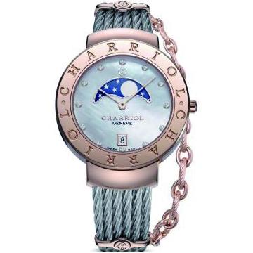 国内正規品 CHARRIOL シャリオール ST-TROPEZ 35 レディース腕時計 ST35CP.560.010【新品】