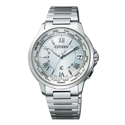 【】シチズン クロスシー エコドライブ電波時計  HAPPY FLIGHT レディース腕時計 CB1020-54A