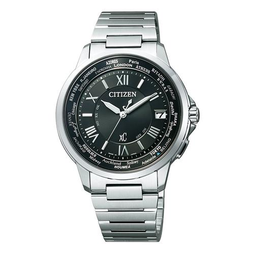 【】シチズン クロスシー エコドライブ電波時計  HAPPY FLIGHT レディース腕時計 CB1020-54E