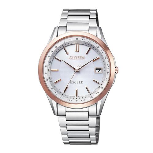 【送料無料】 シチズン エクシード エコドライブ電波時計 メンズ腕時計 CB1114-52A