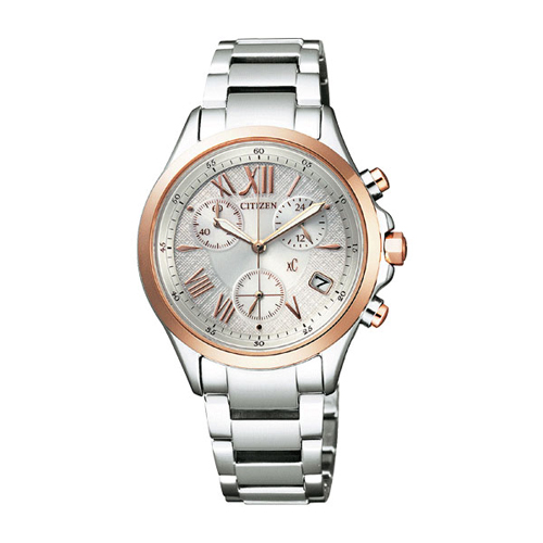Cloth-citizen ladies watch eco-drive FB 1404-51A