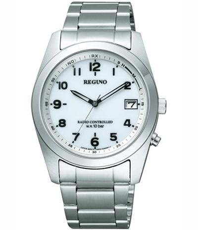 【2日20時~エントリーでポイント最大39倍!9日1時59分まで!】 【送料無料】シチズン REGUNO[レグノ]ソーラーテック電波時計 メンズ腕時計 RS25-0482H
