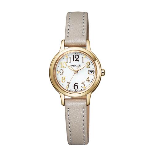 国内正規品 エントリーでポイント最大39倍 24日1時59分まで NEW ARRIVAL 送料無料 シチズン 売れ筋 KH4-921-10 ウィッカ ソーラーテック電波 レディース腕時計
