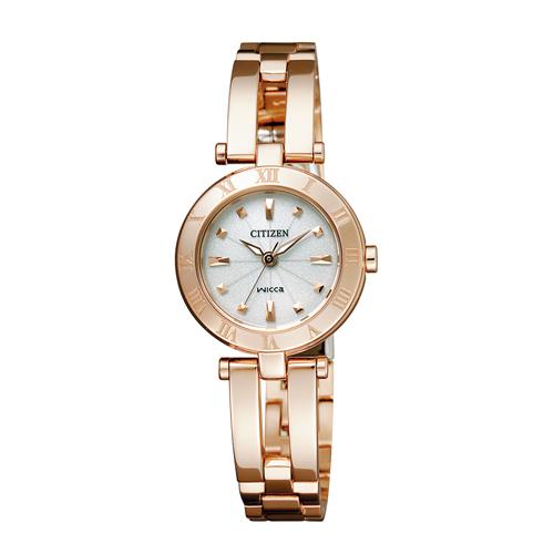 【送料無料】シチズン ウィッカ ソーラーテック レディース腕時計 NA15-1573C