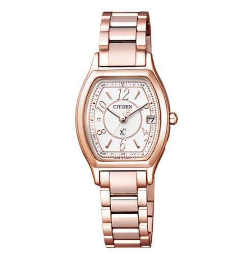 国内正規品 CITIZEN シチズン XC クロスシー ティタニア ライン ハッピーフライト エコ・ドライブ電波時計 レディース腕時計  ES9354-69A